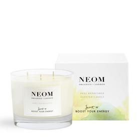 image-NEOM Feel Refreshed Scented Candle 3 Wick