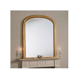 image-Yearn Beaded Mantle Mirror Gold Gold