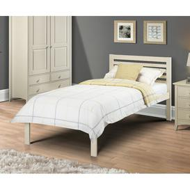 image-Joshua Single Bed Frame Just Kids Colour (Bed Frame): Stone White