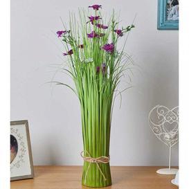 image-Damson Dream Faux Flower Bouquet 55Cm