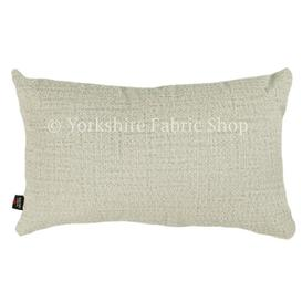 image-Tapini Cushion with Filling Yorkshire Fabric Shop Colour: Silver