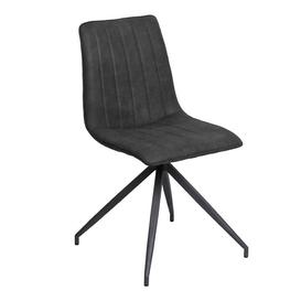 image-Zagora dining chair - Charcoal
