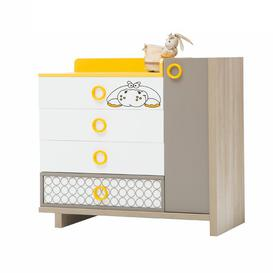 image-Zuzo 4 Drawer Chest of Drawers Just Kids
