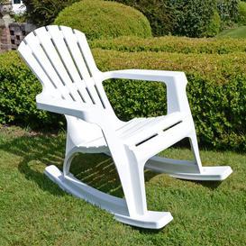 image-Monatuk Rocking Chair Sol 72 Outdoor Colour: White
