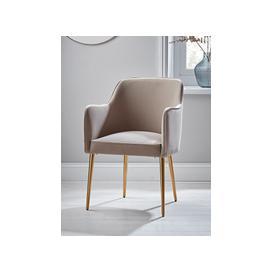 image-Mida Velvet Occasional Chair