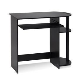 image-Simplistic Computer Desk Symple Stuff Colour: Espresso/Black