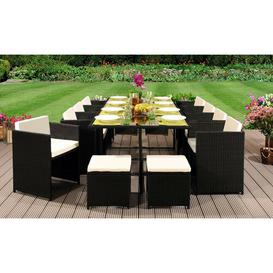 image-Whetzel 12 Seater Dining Set with Cushions Sol 72 Outdoor