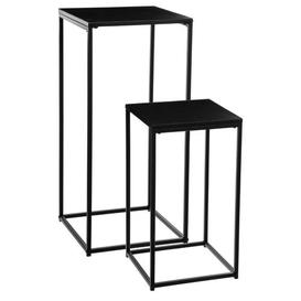 image-Tacoma Metal 2 Piece Nest of Tables