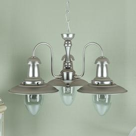 image-Arnaz 3-Light Shaded Chandelier Three Posts
