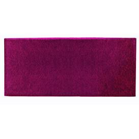 image-Upholstered Headboard Mercury Row Size: Small Double, Colour: Burgundy