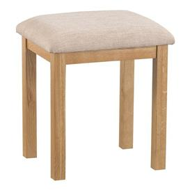 image-Mowgli Dressing Table Stool Gracie Oaks Colour (Frame): Natural
