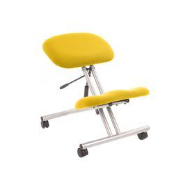 image-Malmo Kneeling Chair Silver Frame, Solano