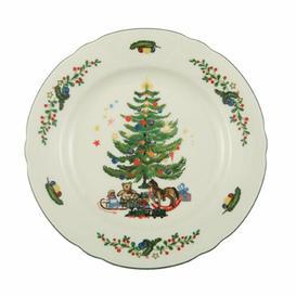 image-Marieluise Ivory Flowers Christmas 17cm Bread Plate Seltmann Weiden