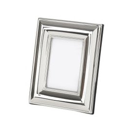 image-Libra Serena 3.5x5 Inch Silver Stepped Photo Frame