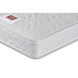 image-Sleepwalk Sprung Gold Open Coil Rolled Mattress Airsprung Beds Size: Double (4'6)