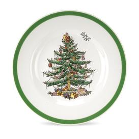 image-Christmas Tree Bread and Butter Plate Spode