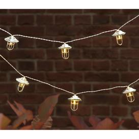 image-Argos Home 20 Fishermans Lantern Solar String Lights
