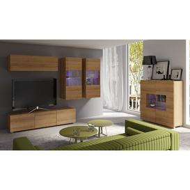 """image-Mandurah Entertainment Unit for TVs up to 39\"""" Brayden Studio Colour: Golden Oak"""