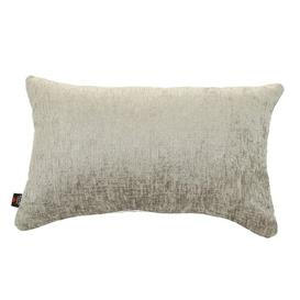 image-March Cushion with Filling Ebern Designs Colour: Silver