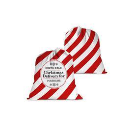 image-Personalised Christmas Delivery Santa Sack