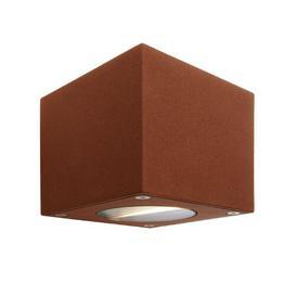 image-Cubodo LED Outdoor Flush Mount Deko Light Frame Colour: Brown