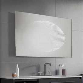 image-Circe Bathroom Mirror Wade Logan Size: 66cm H x 80cm W x 3.2cm D