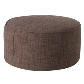image-Drum Pouffe Mercury Row Upholstery Colour: Brown