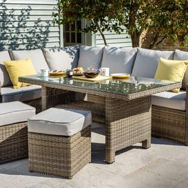 image-2021 Hartman Westbury Rectangular Casual Dining Set - Beech/Dove