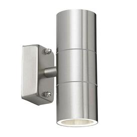 image-LED Outdoor Stainless Steel Up / Down Ip44 Wall Spotlight
