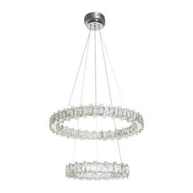 image-Ashby 2-Light Crystal LED Pendant Willa Arlo Interiors