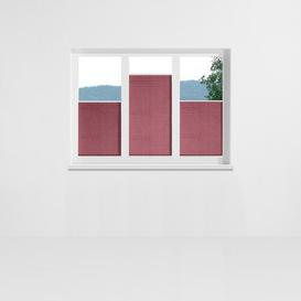 image-Aigue Pleated Blind Symple Stuff Size: 50 x 130cm, Colour: Red and purple