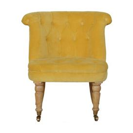 image-Bourneville Tub Chair ClassicLiving Upholstery Colour: Mustard