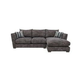 image-Nautical Small 3 Seater Classic Back Chaise Sofa - Grey