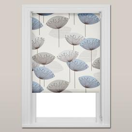 image-Sanderson Dandelion Clocks Daylight Roller Blind, Blue