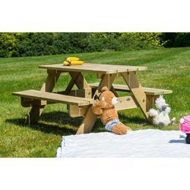 image-Alexander Rose Pine Childrens Picnic Table