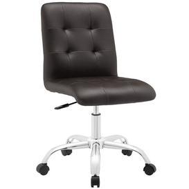 image-Hofmann Ergonomic Desk Chair Zipcode Design Upholstery Colour: Brown