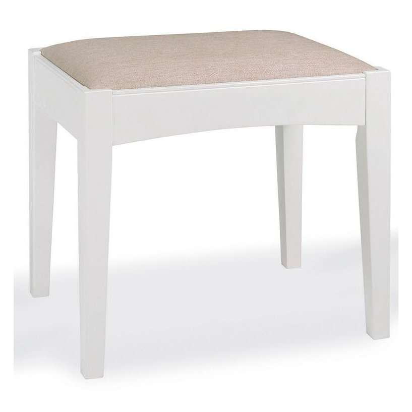image-Hampstead Two Tone Painted Furniture Dressing Table Stool