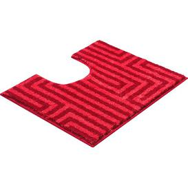 image-Aruba Pedestal Mat Grund Colour: Red