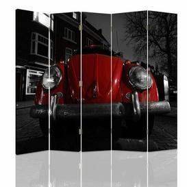 image-Hunchback Canvas 5 Panel Room Divider Brayden Studio