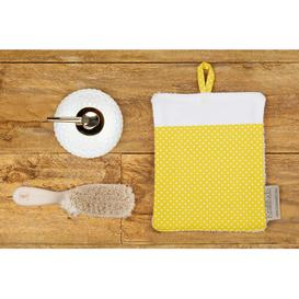 image-White Dots Face Cloth KraftKids