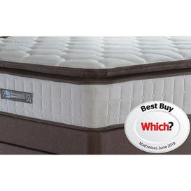 image-Sealy Nostromo Latex Foam Double Mattress