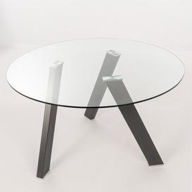 image-Tristani Dining Table Ebern Designs Table Base Colour: Grey Anthracite