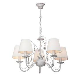 image-Ezequiel 5-Light Shaded Chandelier Lily Manor