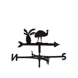 image-Weathervane in Emu Design - Medium (Cottage)
