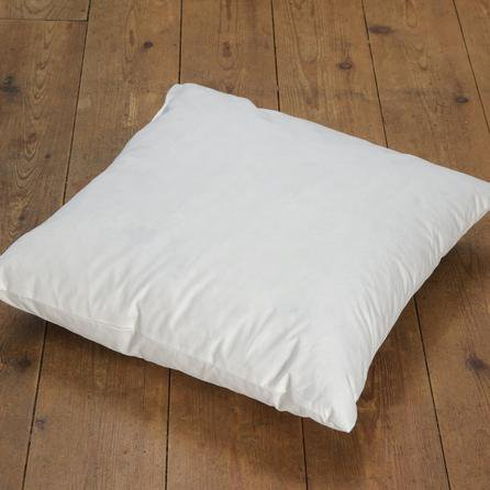 image-Duck Feather Cushion Pad White