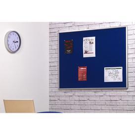 image-Smartshield Noticeboard, Aluminium/Blue