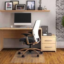 image-Cleartex Hard Floor Straight Edge Chair Mat Floortex