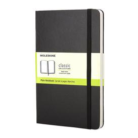 image-Moleskine - Hardback Pocket Plain Notebook - Black