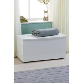 image-Manhattan Blanket Box - Ready Assembled
