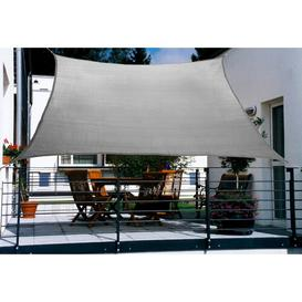 image-Millinocket 2.7m x 1.4m Rectangular Shade Sail Sol 72 Outdoor Colour: Grey